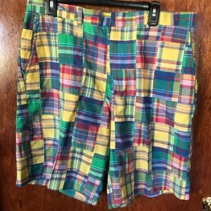 Lilly Pulitzer Plaid Shorts